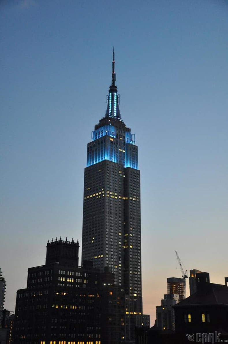 """The Empire State Building"""