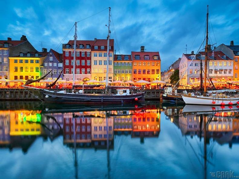 Дани улс, Ховедстэйдэн хот - 48.5%