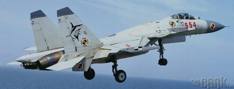 """Shenyang J-15"" нисдэг аварга загас"