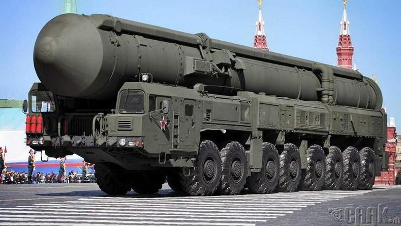 «Тополь-М» /Topol-M/ пуужингийн систем