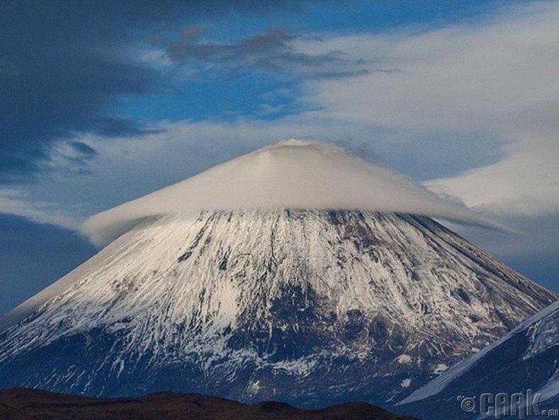 Ключескаяа Сопка бол дэлхийн хамгийн идвэхтэй галт уул юм