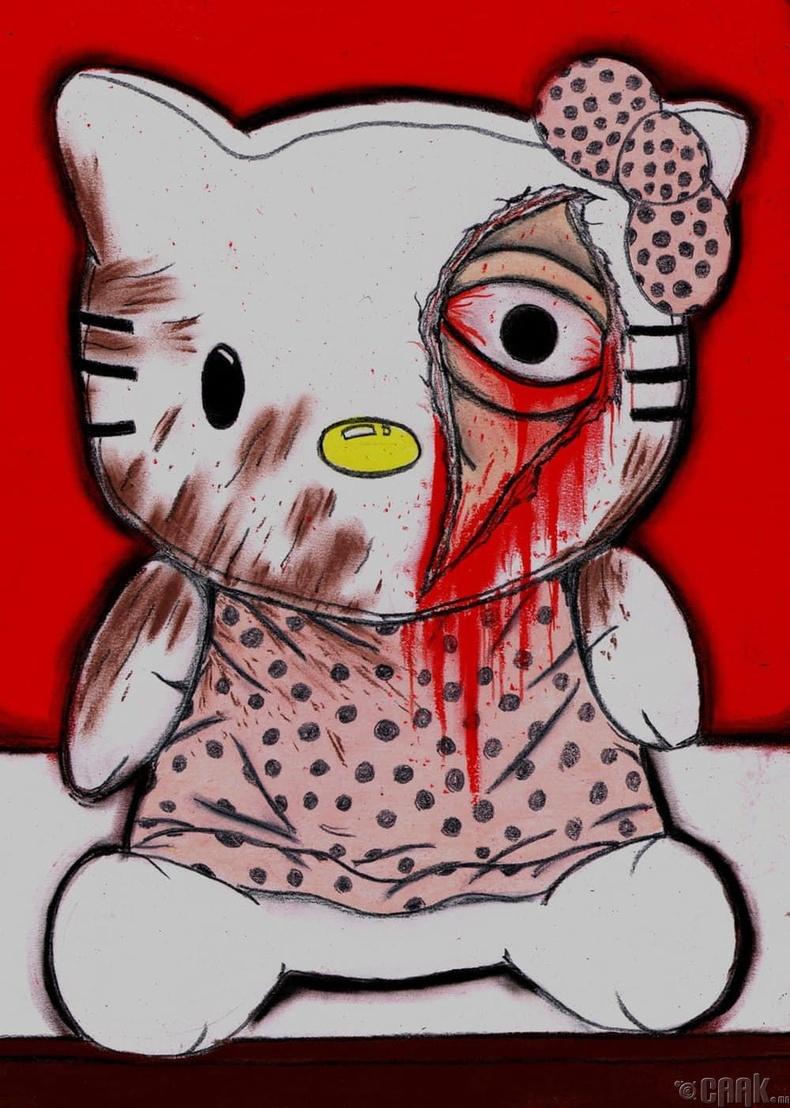 """""""Hello Kitty""""-д шингэсэн охины сүнс"""