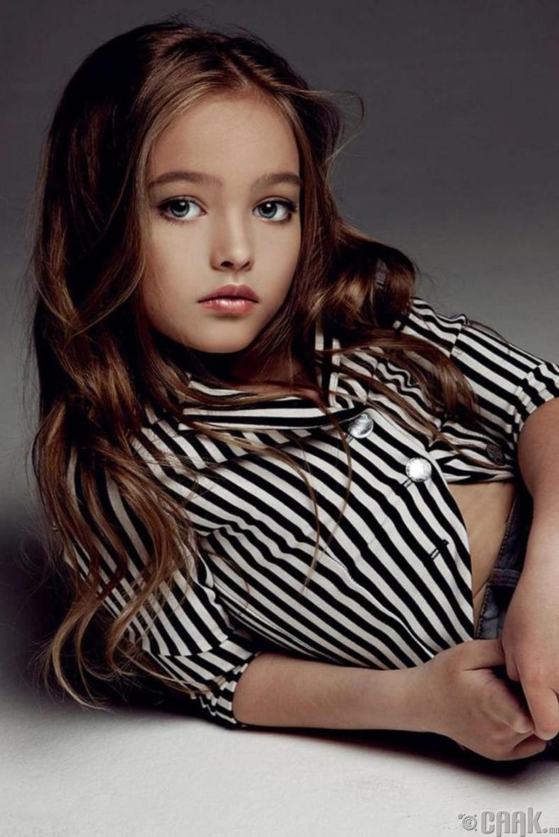Анастасия Безрукова – Сахиусан тэнгэр мэт охин (12 нас)