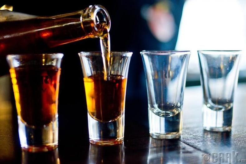 Спиртийн агууламжтай ундаа