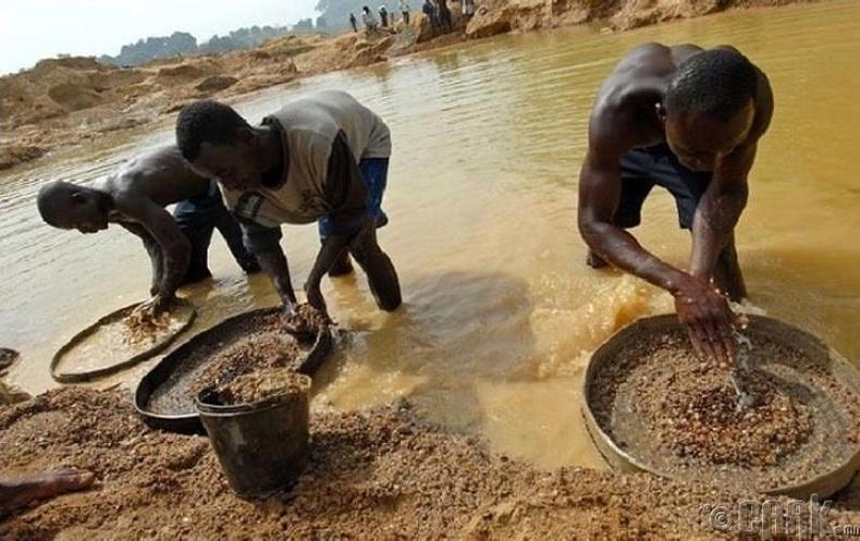 Алмазны уурхай, Сьерра-Леоне
