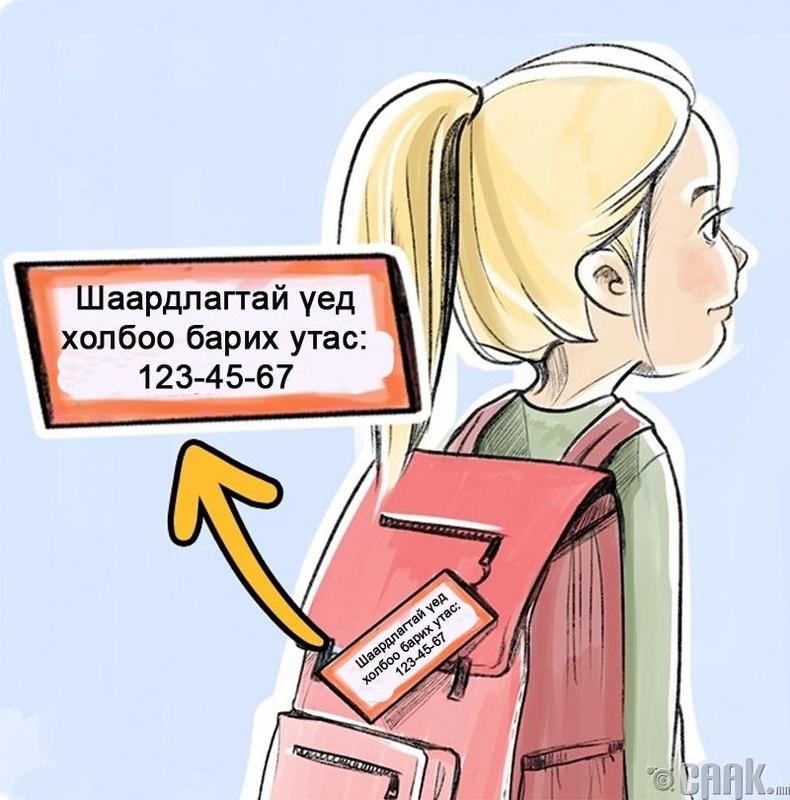 Нэр болон холбогдох утасны дугаарыг нууцлах