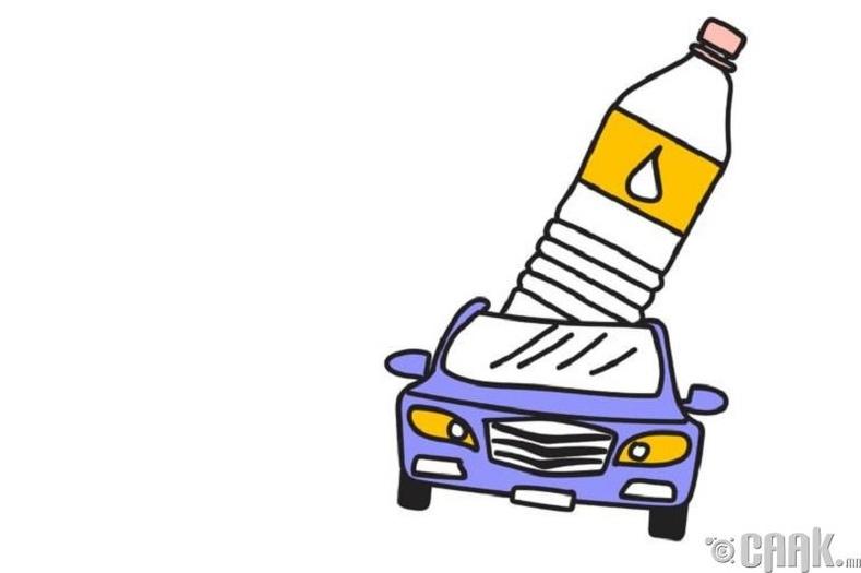 Машиндаа хэд хоног байлгасан савнаас ус уух нь муу юу?