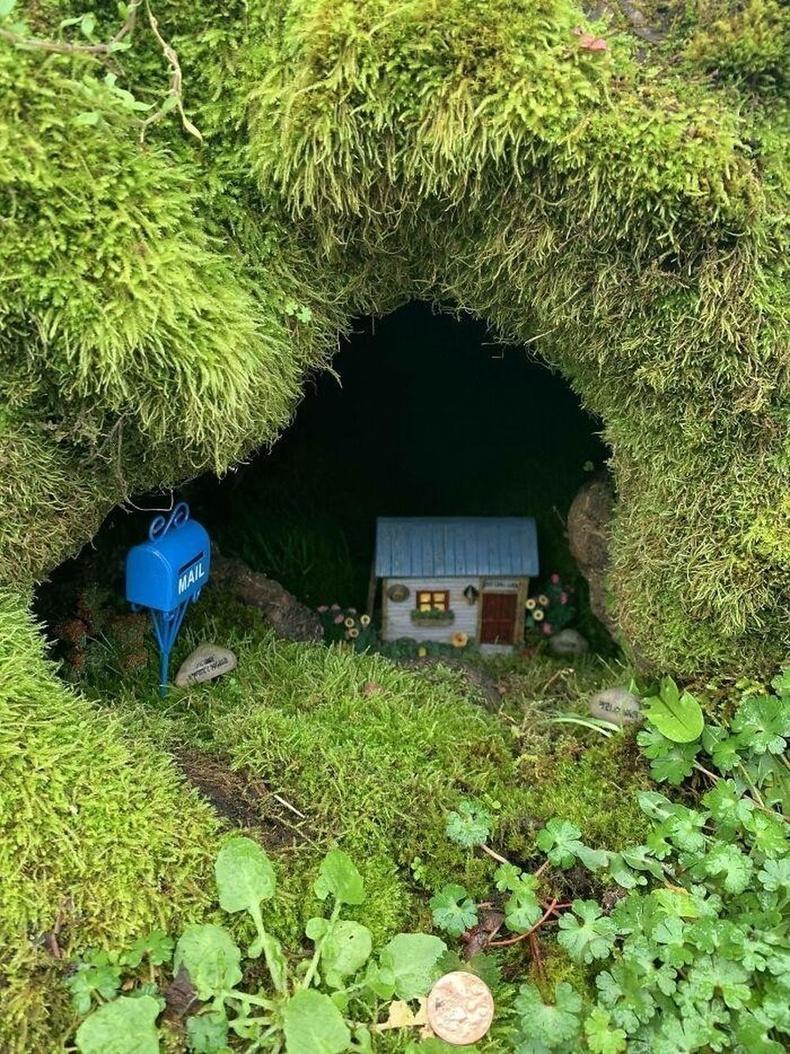 Модны хожуул доорх бяцхан байшин