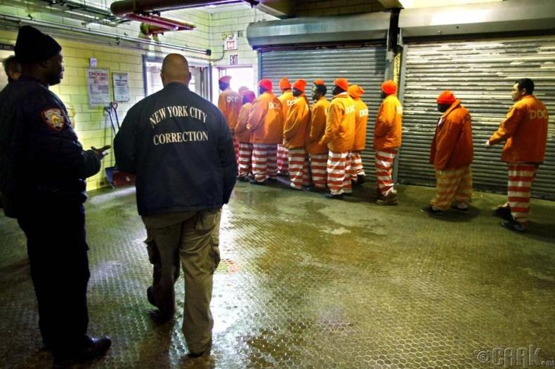 """АНУ-ын """"Rikers Island"""" хорих анги"""