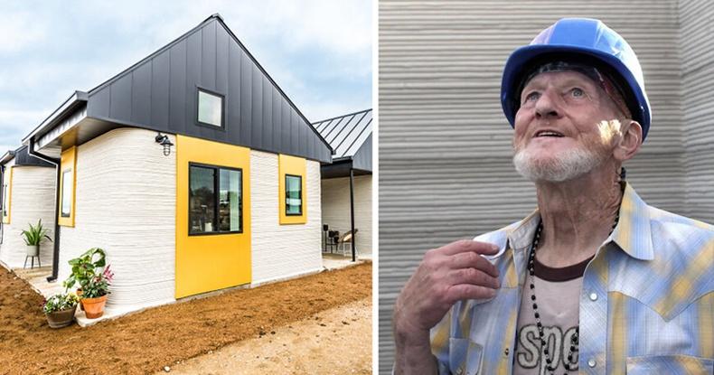 Орон гэргүй эр дэлхийн анхны 3D хэвлэмэл байшинд амьдрахаар болжээ