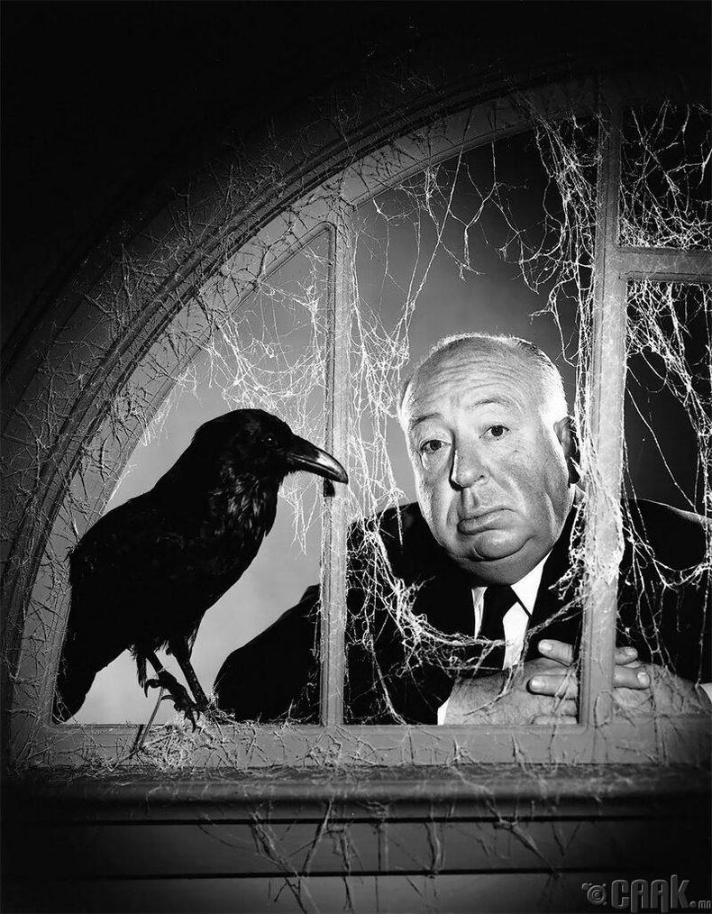 Альфред Хичкок, 1962 он