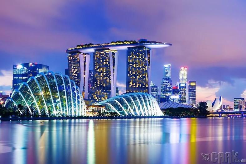 Сингапур - IQ түвшин 103