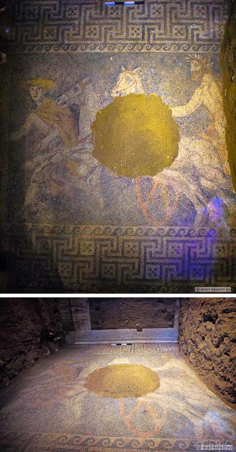 Македонийн  Амфиполисын аварга мозаик