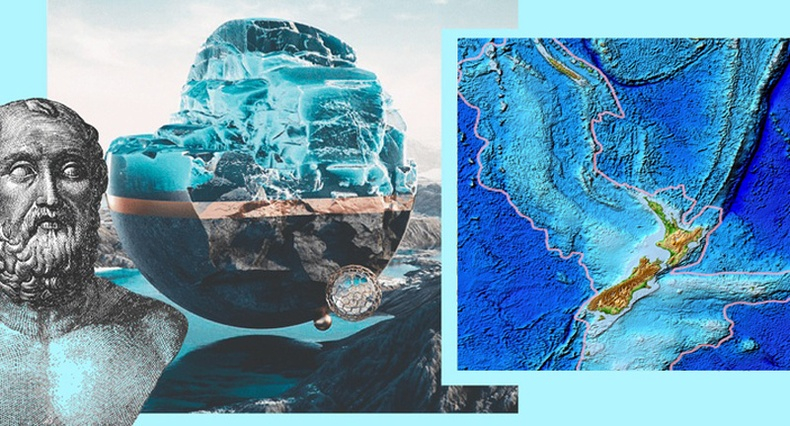 Далайд живсэн нь тодорхой болсон дэлхийн 8 дахь тив дээр хэн амьдарч байсан бэ?