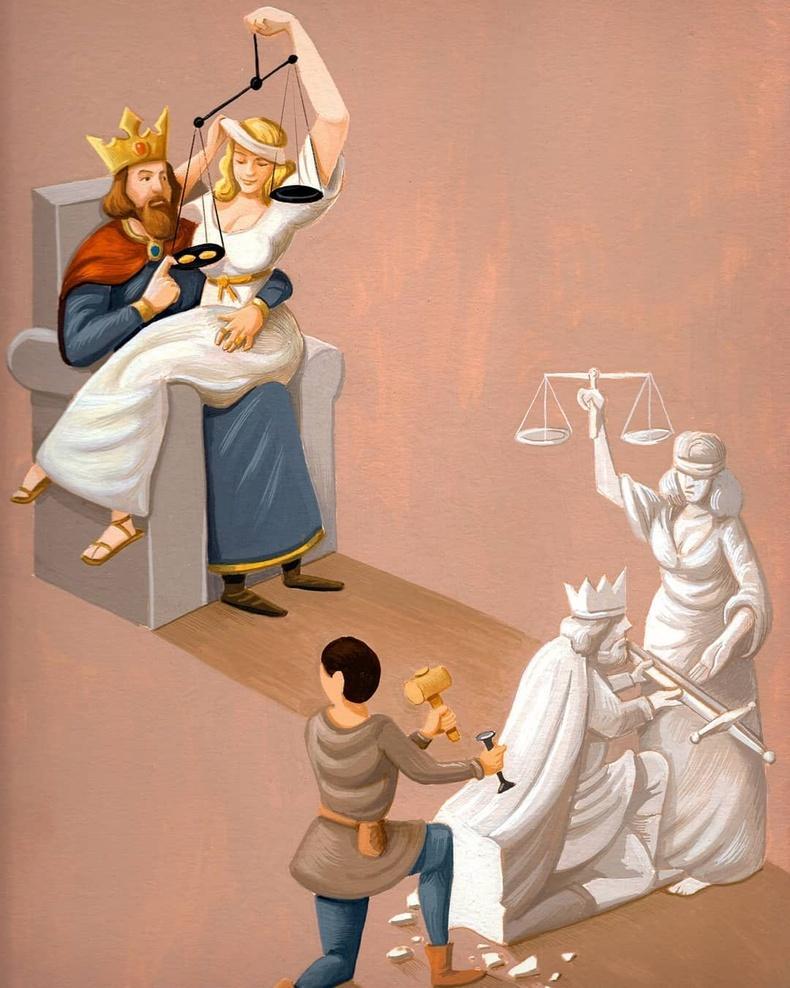 Эрх мэдэл, шударга ёс, суртал ухуулга