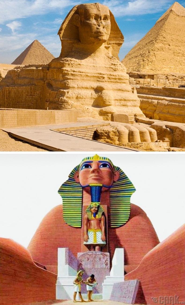 """""""Sphinx""""-ийн үнэн төрх"""
