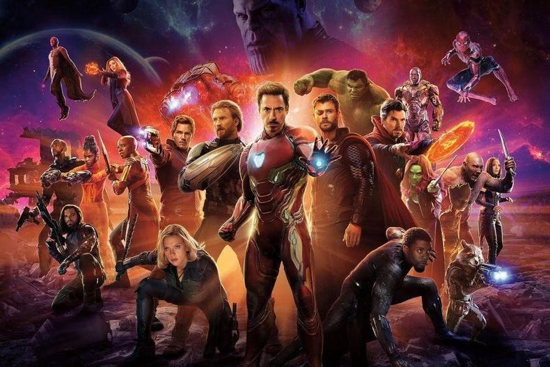 """""""Avengers: Infinity War"""" - IMDb оноо: 8.5"""