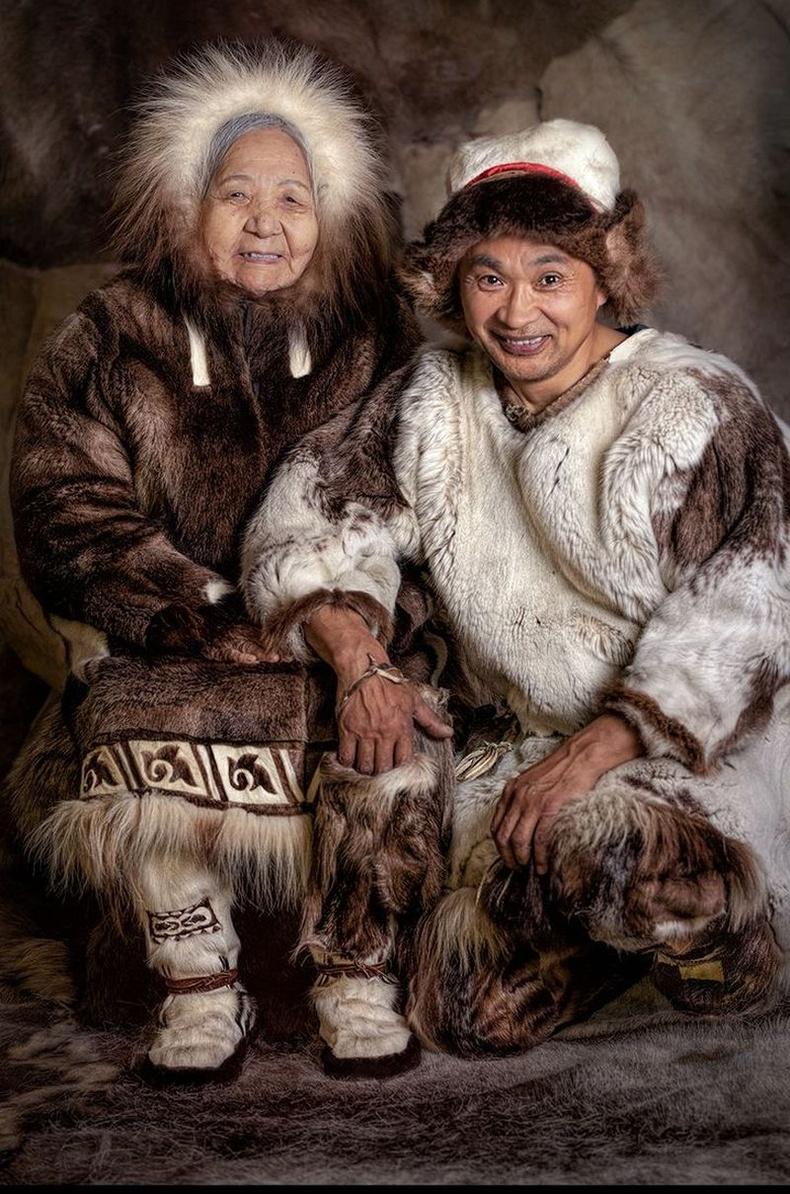Чукча хүмүүс, Сибирь