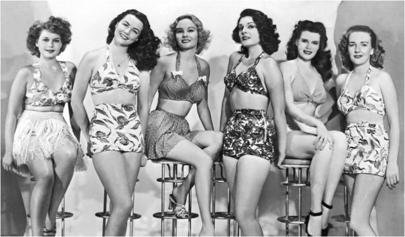 1950-иад оны үеийн бүсгүйчүүдийн загварлаг бөгөөд халуухан дүр төрх