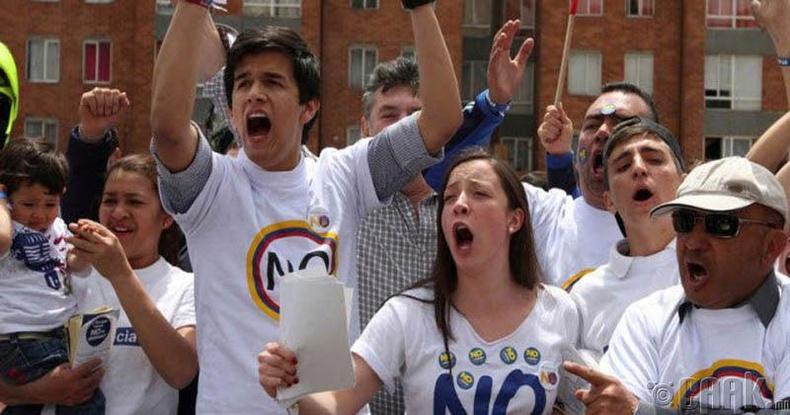 Колумб улс энх тайван амьдралаас татгалзав