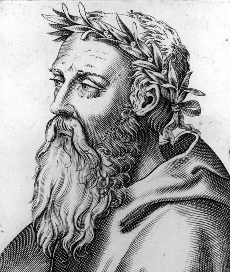 Грекийн эрдэмтэн, гүн ухаантан Эмпедокл ( МЭӨ 490-430 он )