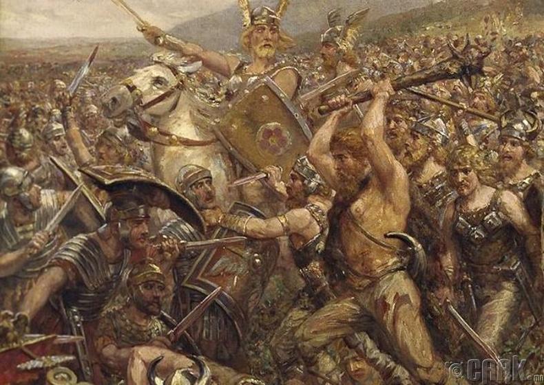 Ромын эзэнт гүрний анхны ялагдал