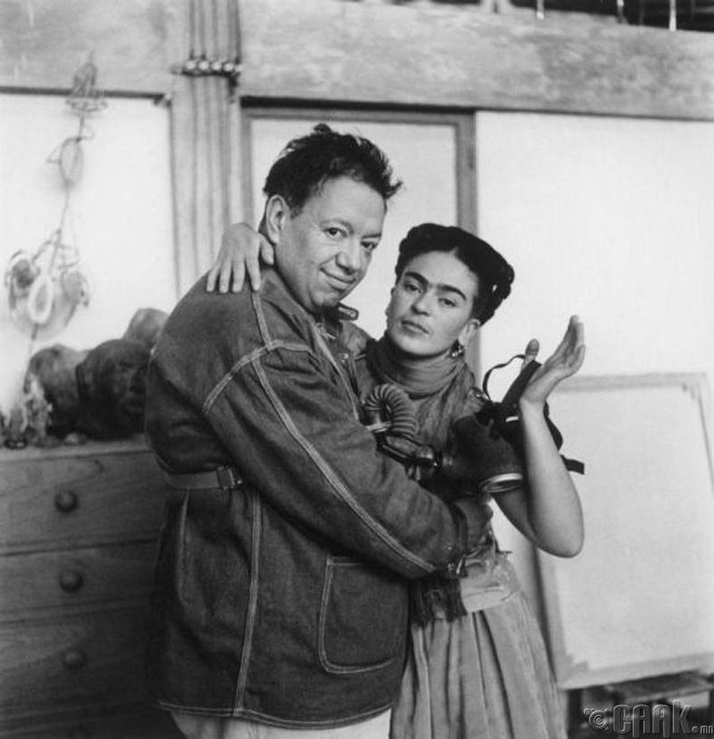 Фрида Кало (Frida Kahlo)- Диего Ривера-гийн урлагийн охин тэнгэр