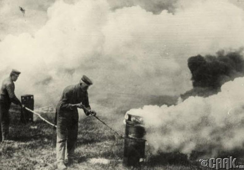 Герман цэргүүд Францын эсрэг 6000 бортого хлорын хий нээсэн түүхтэй