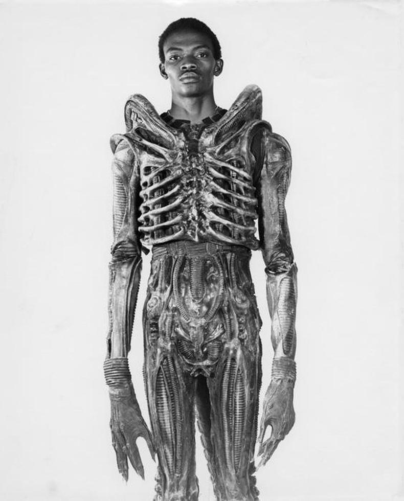 """""""Alien"""" (1979) киноны харь гаригийн хүний дүрд тоглосон жүжигчин Болажи Бадежо"""