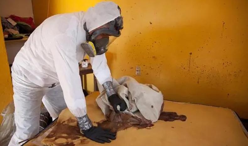 """Хэргийн газар цэвэрлэгч Мексик эр """"бохир"""" ажлынхаа тухай хуваалцжээ"""