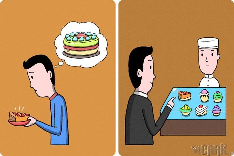 Адилхан брэндийн бялуу иддэг