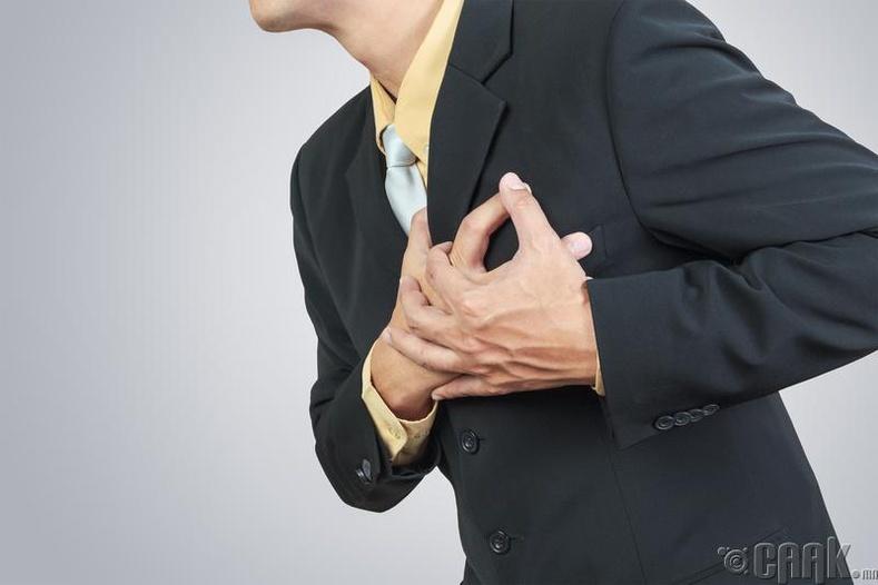 Зүрхэнд асуудал үүсгэнэ