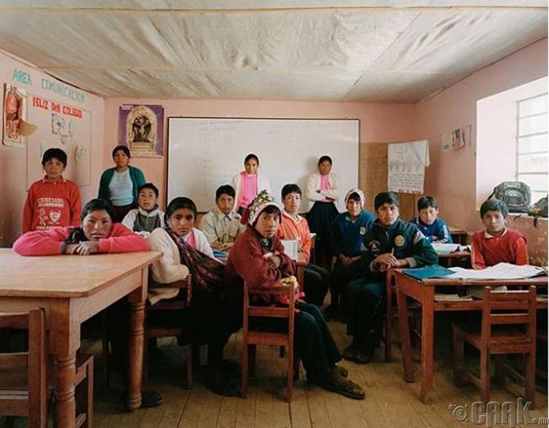 """""""Escolar Secundaria Tiracanchi"""", Перу"""