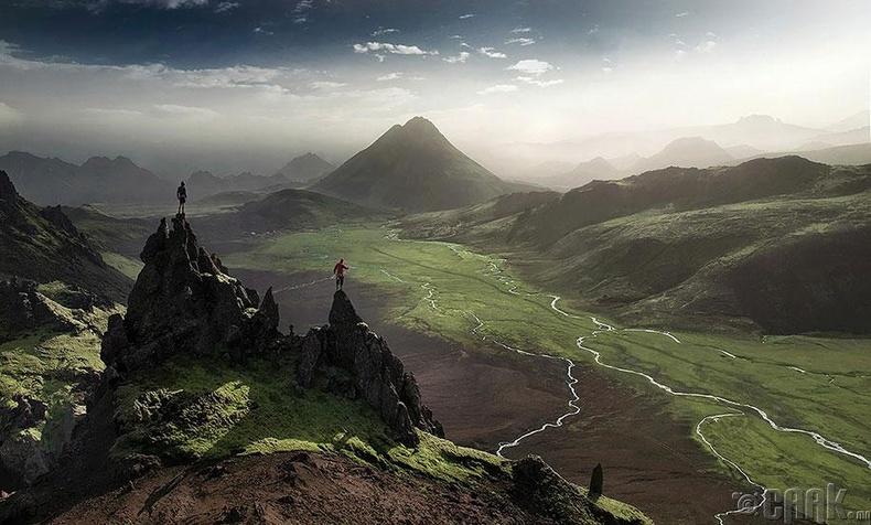 Бид бодохдоо: Исланд бол цас мөсний орон