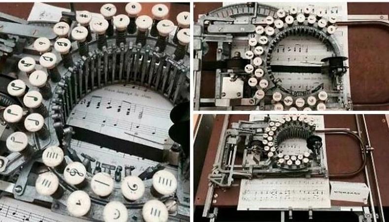 Хөгжмийн нотны машин