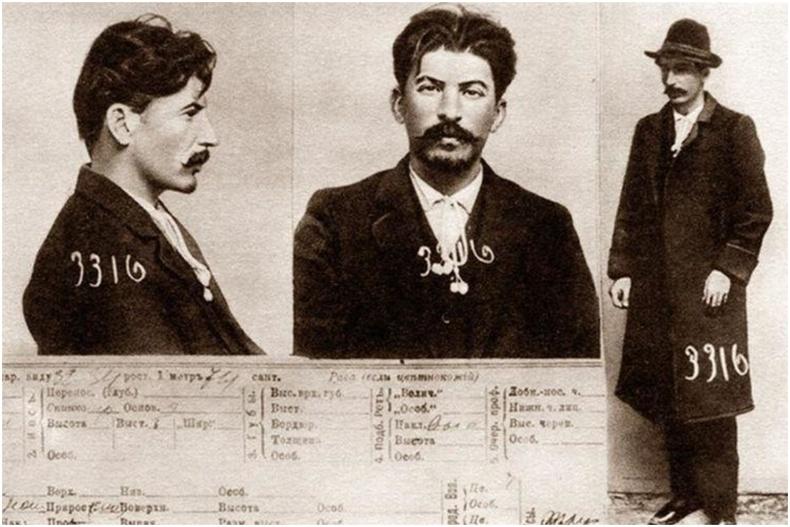 Хоригдол Иосиф Жугашвили (Сталин)-ийн шоронгийн бүртгэл - Оросын эзэнт гүрэн, 1911 он