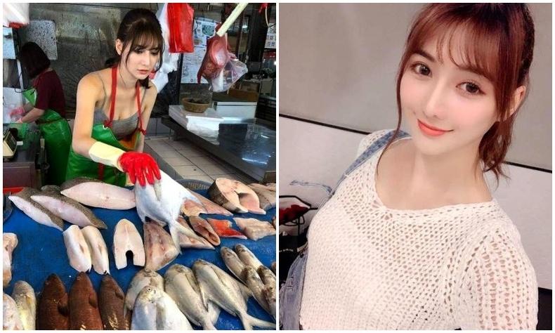 Загас зардаг үзэсгэлэнт худалдагч интернет хэрэглэгчдийн сэтгэлийг эзэмдэв