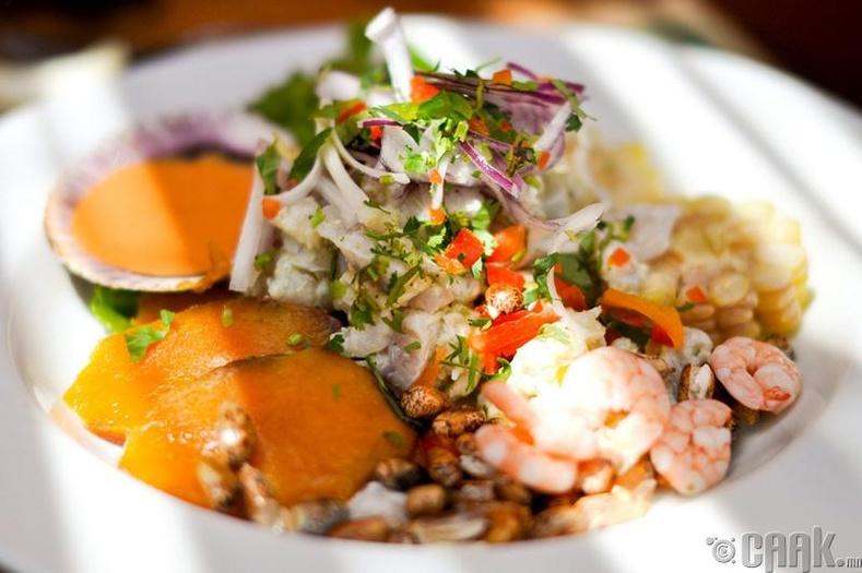 Мексик - Загасны салат