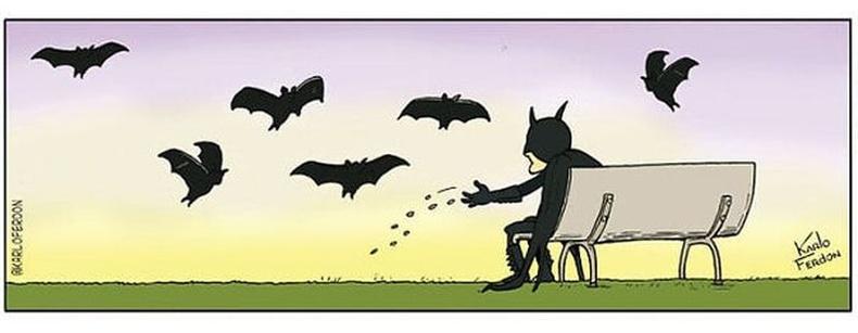 Бэтмэн чөлөөт цагаараа