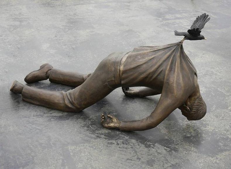 """""""Гарц"""" - Норвегийн уран барималч Фредрик Раддумын бүтээл"""