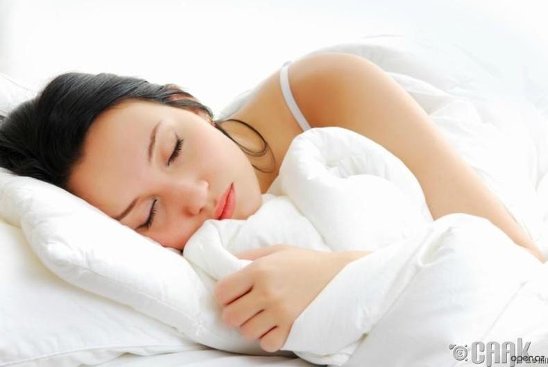 Та амралтын өдрөөр их унтдаг