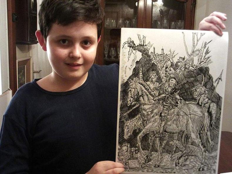 11 настай авъяаслаг хүү