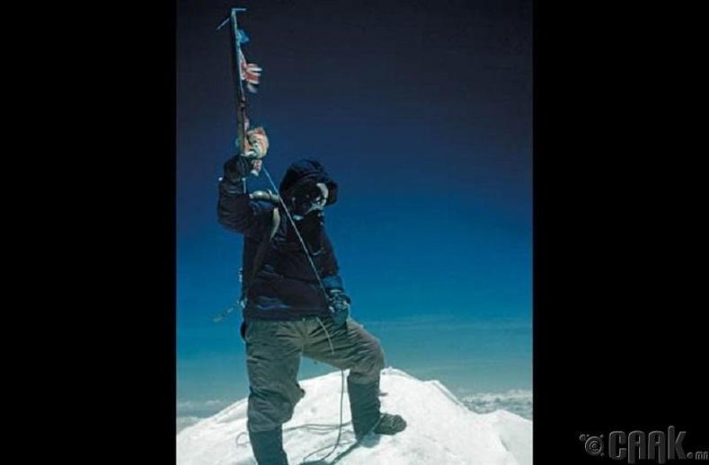 Эверестийн оргил дээр (1953 он)