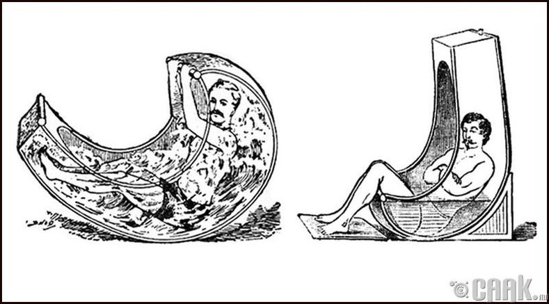 19-р зууны үед савлуурт ванн моод болж байж