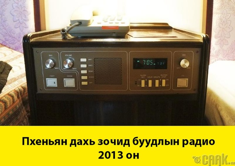 Бонус: Хойд Солонгосын радио