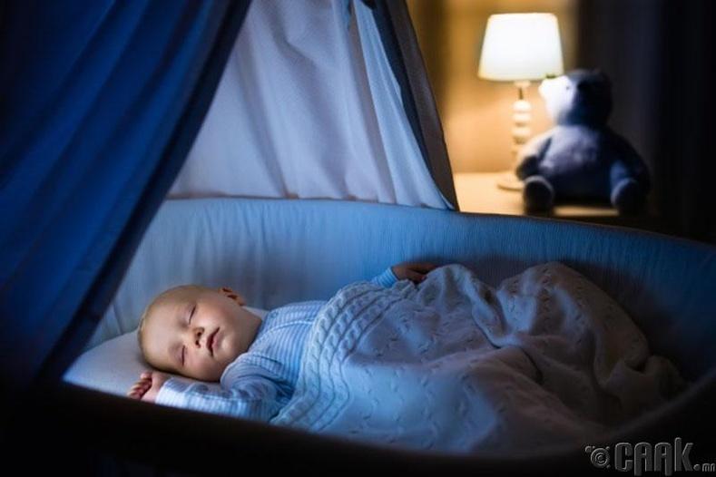 Тухтай унтах нөхцлийг бүрдүүлэх