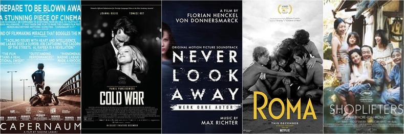 """""""Шилдэг гадаад хэл дээрх кино"""" номинацад:"""