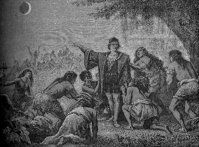 """Колумб индианчуудаас сарыг """"хулгайлжээ"""""""