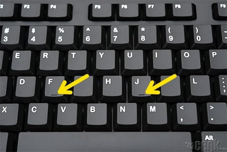 F болон J үсгэн дээрх товруу
