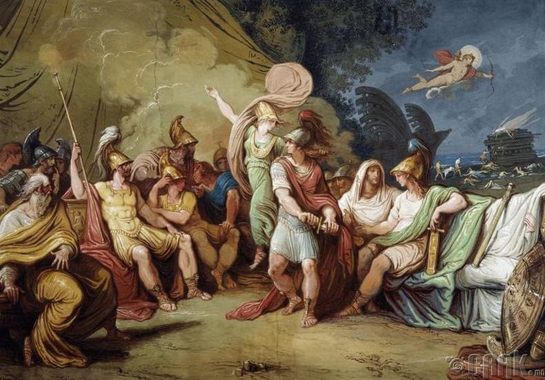 Биелсэн зөгнөл, МЭӨ 455 он